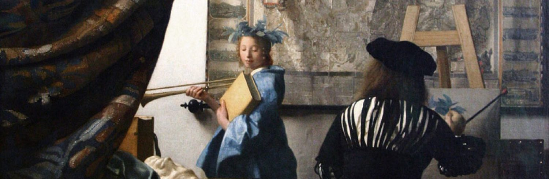 The Art of Painting, by Johannes Vermeer