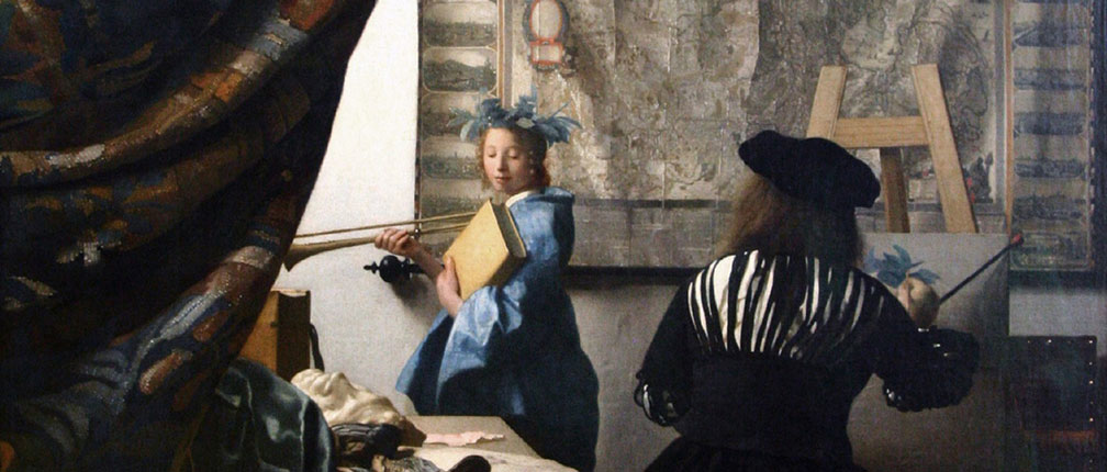 The Art of Painting, by Johannes Vermeer