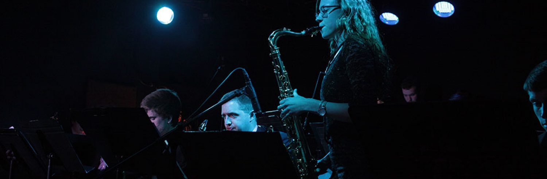 MU Jazz Band performs at The Bridge